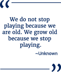 Don't stop playing quote