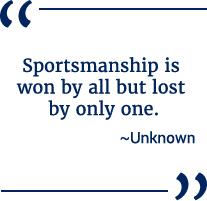 sportsmanship quote