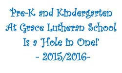 PreK and Kindergarten