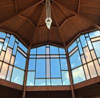 Windows in chapel