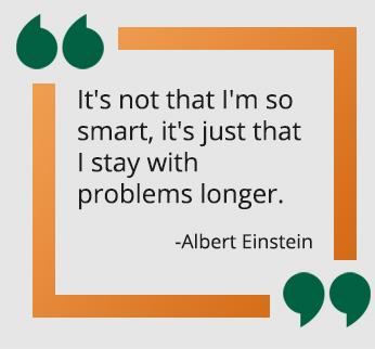 Albert Einstein qoute