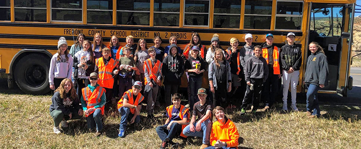 DMS road clean up day - May 2021
