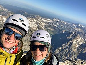 Ethan Howard and Kellyn Chandler conquer the Grand Teton