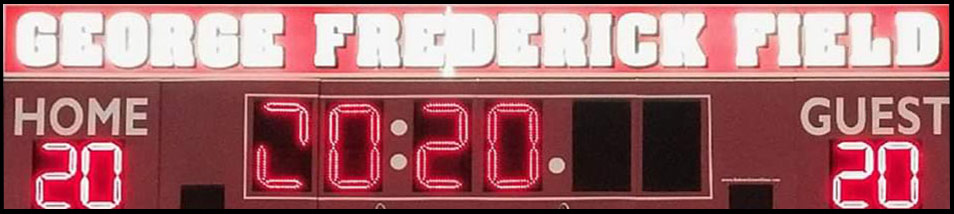 George Frederick Field Scoreboard
