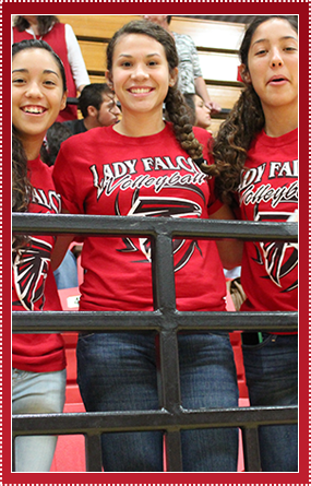 lady falcons volleyball team