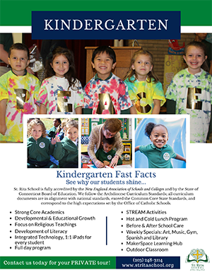 Kindergarten Fast Facts Flyer