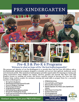 PreK Fast Facts Flyer