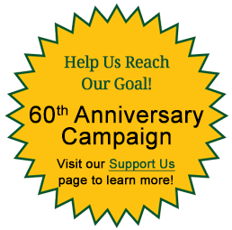 Support Us 60th Anniversary Campaign