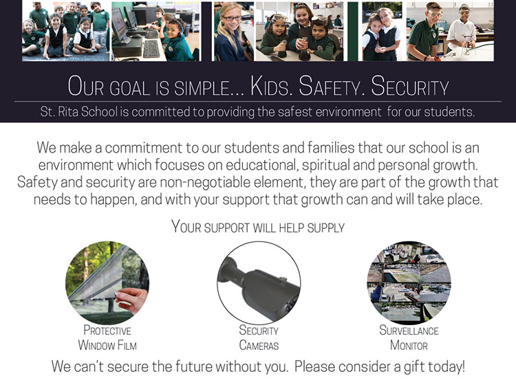 Our Goal is simple... Kids. Safety. Security.