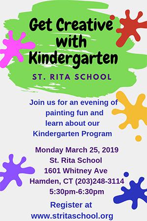 Get Creative with Kindergarten St. Rita School