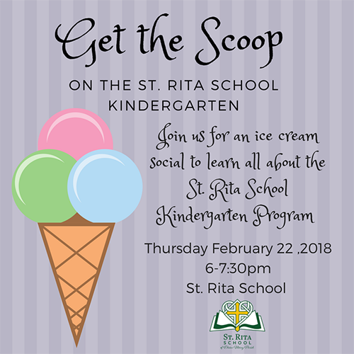Read more about our get the scoop on st. rita school kindergarten 