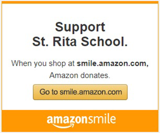 Support St Rita School. When you shop at smile.amazon.com, Amazon donates. Go to smile.amazon.com.