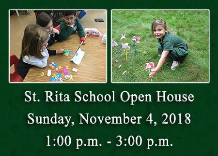 St. Rita School Open House