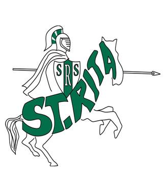 St. Rita Crusader logo