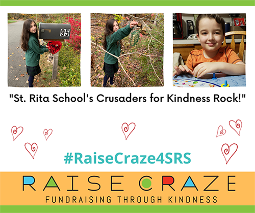St. Rita's School's Crusaders for Kindness Rock!