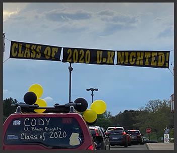 Drive through graduation