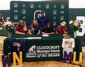 Student signing to play softball for WNMU