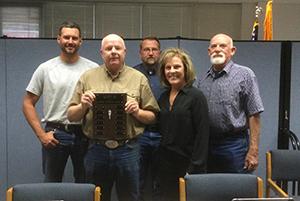 School Board group photo