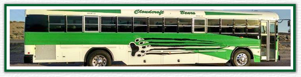 Cloudcroft Bears school bus