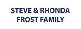 Steve and Rhonda Frost Family
