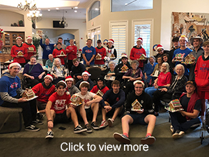 photos and videos from Emerald Grove retirement home visit