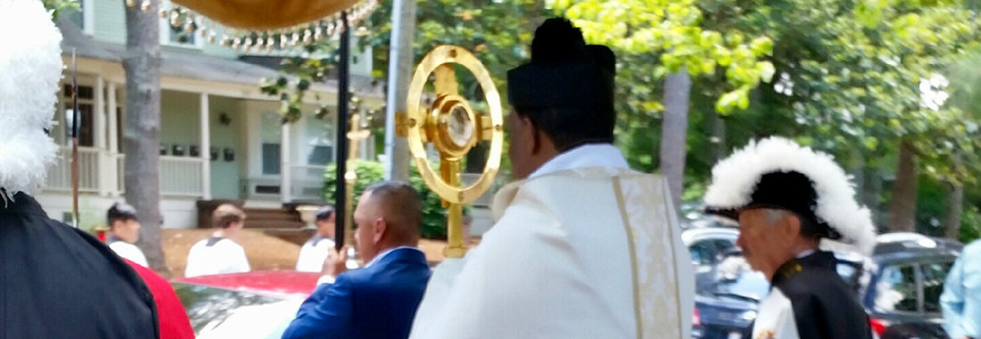 Corpus Christi Procession with Leader