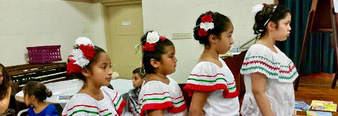 Hispanic Children Dancers