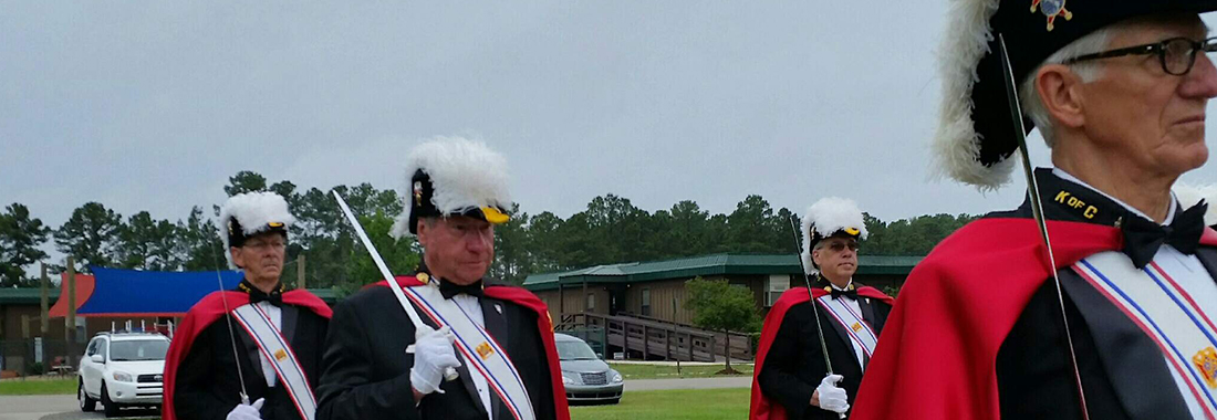 Knights of Columbus at Memorial Day Mass