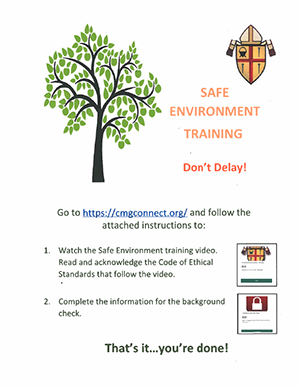 Safe Environment Training