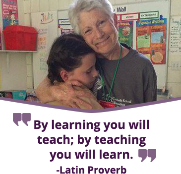 By learning you will teach by teaching you will learn. - Latin Proverb