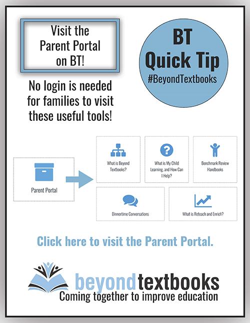 Visit the Parent Portal on BT!