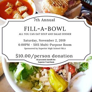 Fill-a-bowl flyer