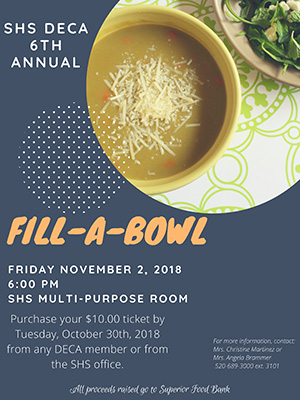 SHS Deca 6th Annual Fill-A-Bowl