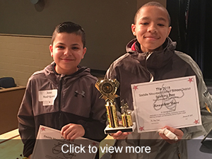Click to view more photos from our district spelling bee