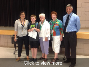 View more photos about our March Students of the Month