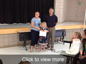August Student of the Month Click to View More