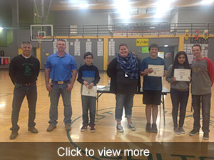 November students and teachers of the month