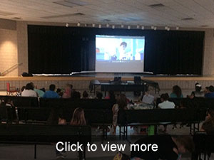PTO Family Movie Night Photos