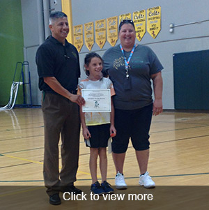 Click to view more photos- August 2018 Students of the month