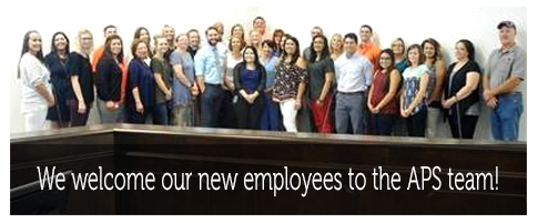 We welcome our new employees to the APS team!