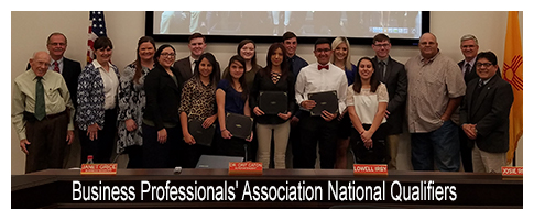Business Professionals' Association National Qualifiers