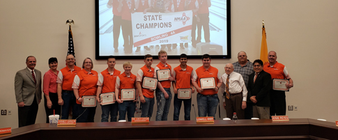 Artesia High Bowling-State Champions 2019