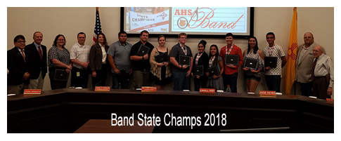 Band State Champs 2018
