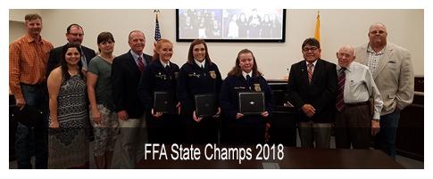 FFA State Champs 2018