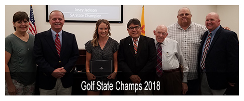 Golf State Champs 2018