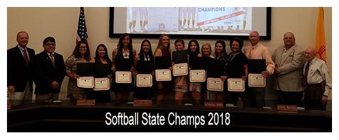 Softball State Champs 2018