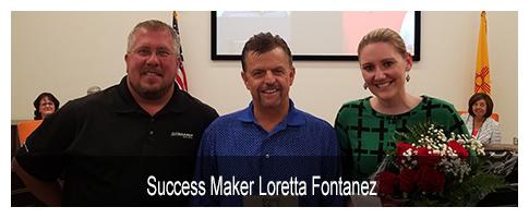 April Tate Branch Success Maker Loretta Fontanez