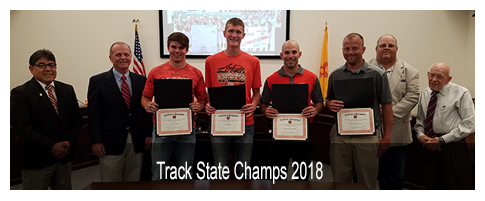 Track State Champs 2018