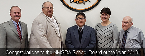 Congratulations to the NMSBA School Board of the Year 2018!