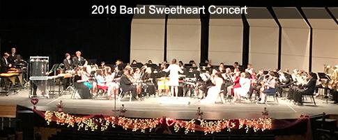 2019 Band Sweetheart Concert